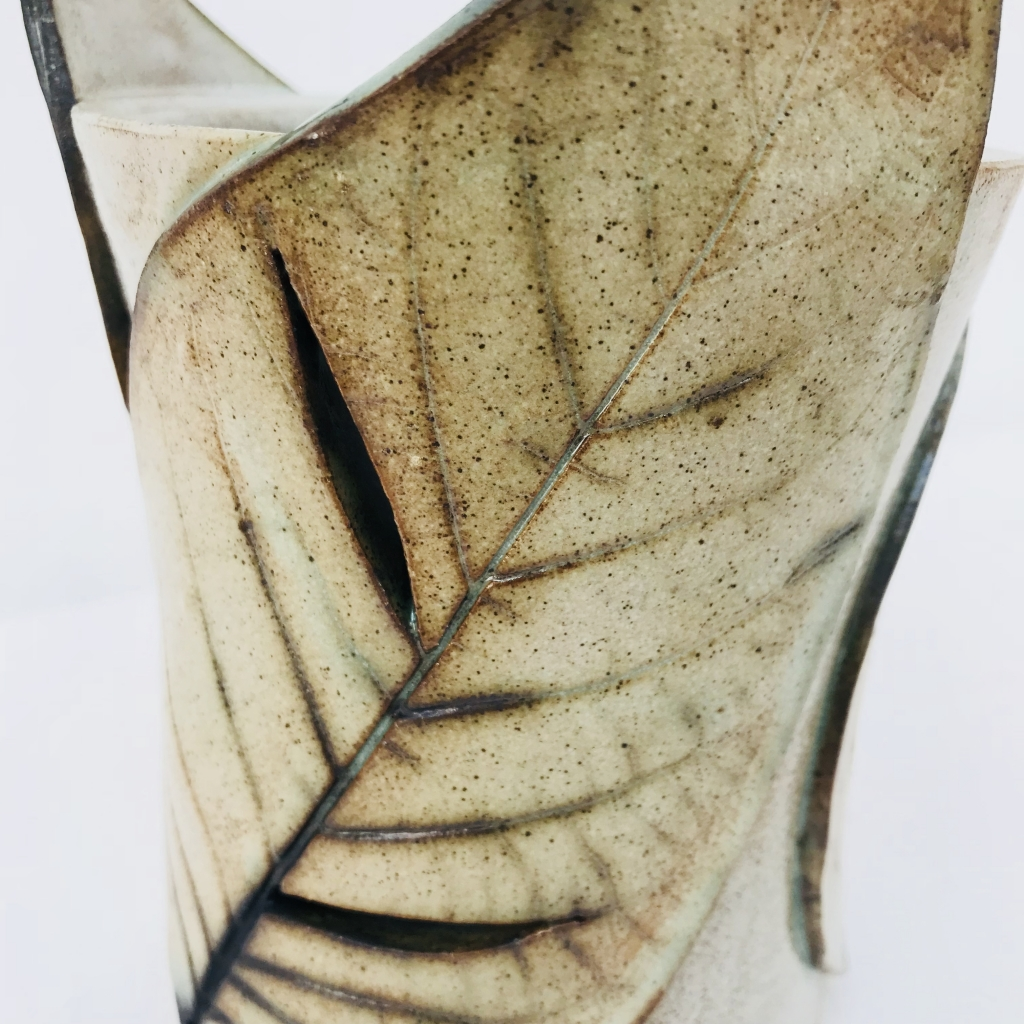 Leaf Lantern made by Sonya Ceramic Art, Ceramics & Pottery Inspired By Nature
