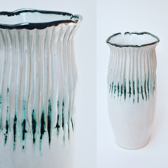 Sonoran Vase inspired by Sonoran Cactus by Sonya Ceramic Art, Ceramics & Pottery Inspired By Nature