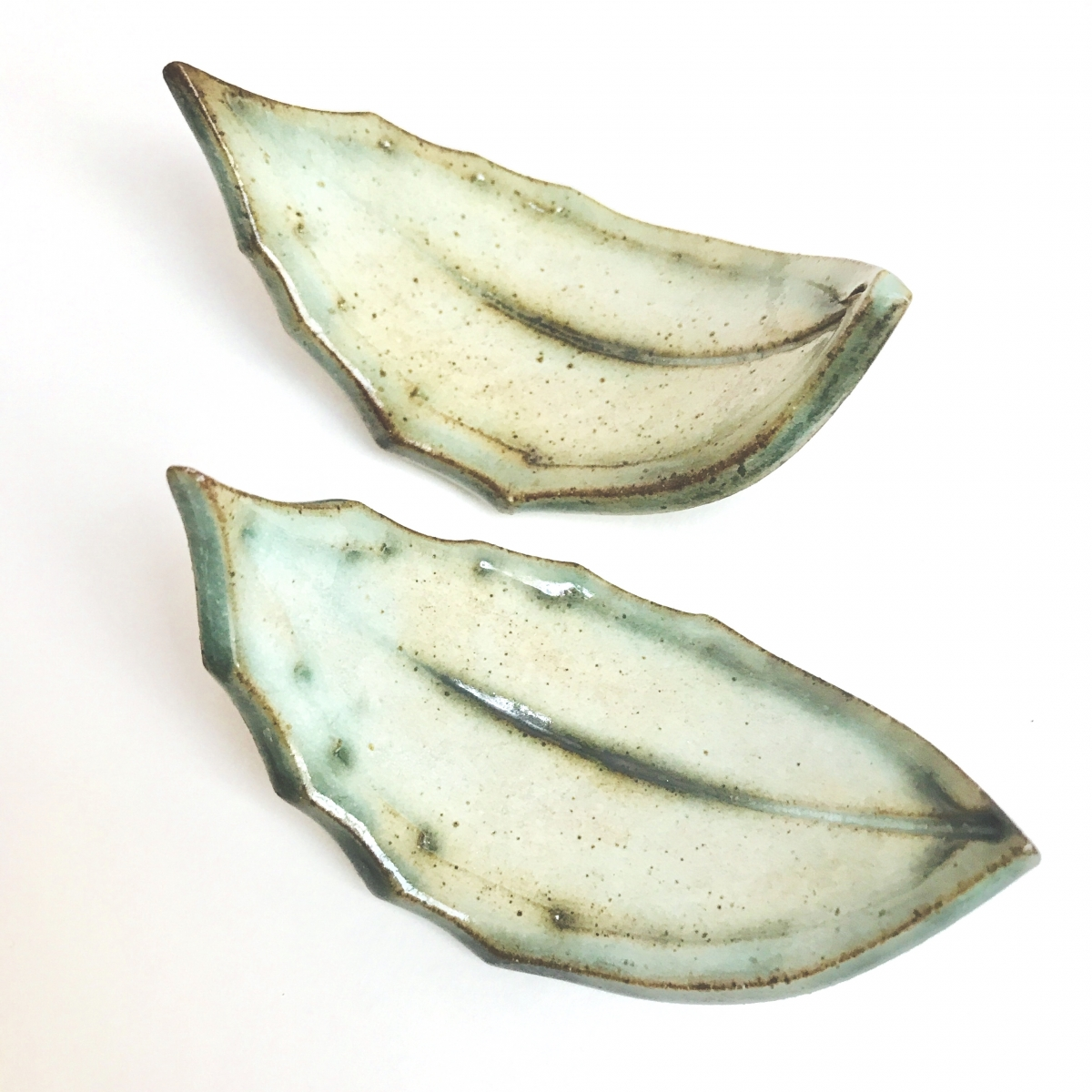 Leaf Chop Stick Rests by Sonya Ceramic Art