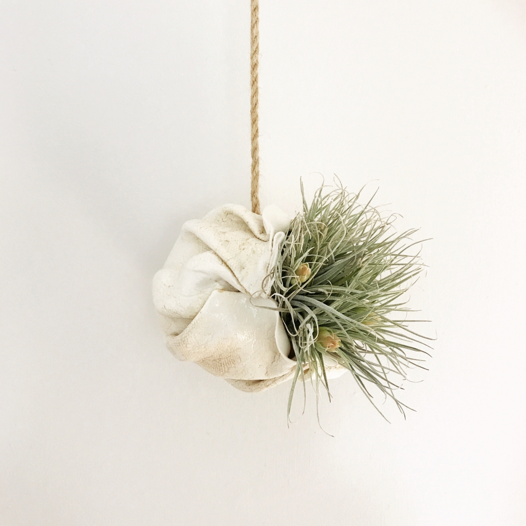 Hanging Air Planter by Sonya Ceramic Art