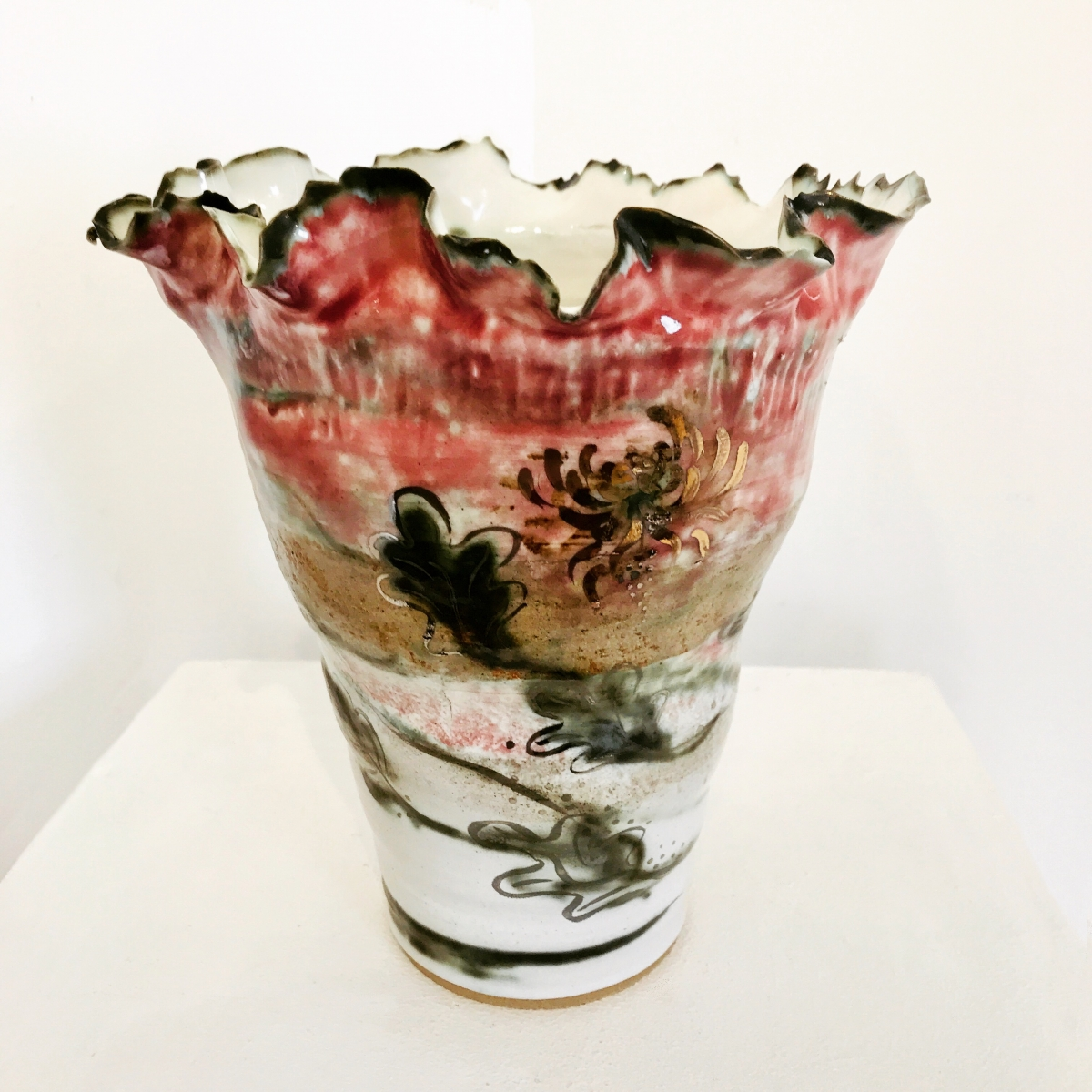 Bespoke Porcelain Vase by Sonya Ceramic Art