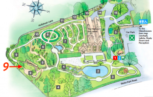 Bristol Botanical Gardens Map