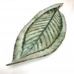 Long Leaf Platter by Sonya Ceramic Art