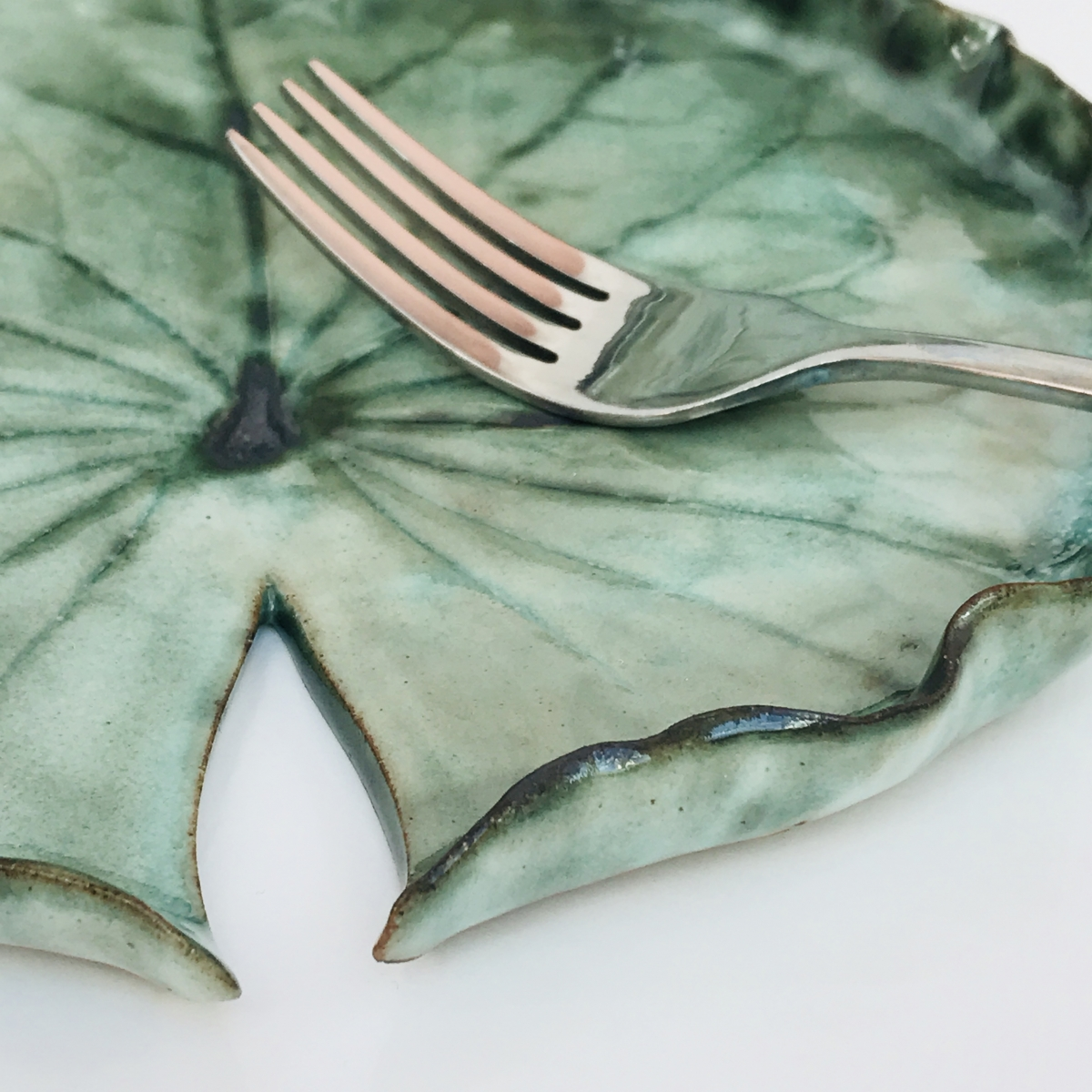 Pond Lily Dish for Niall Keating Close Up