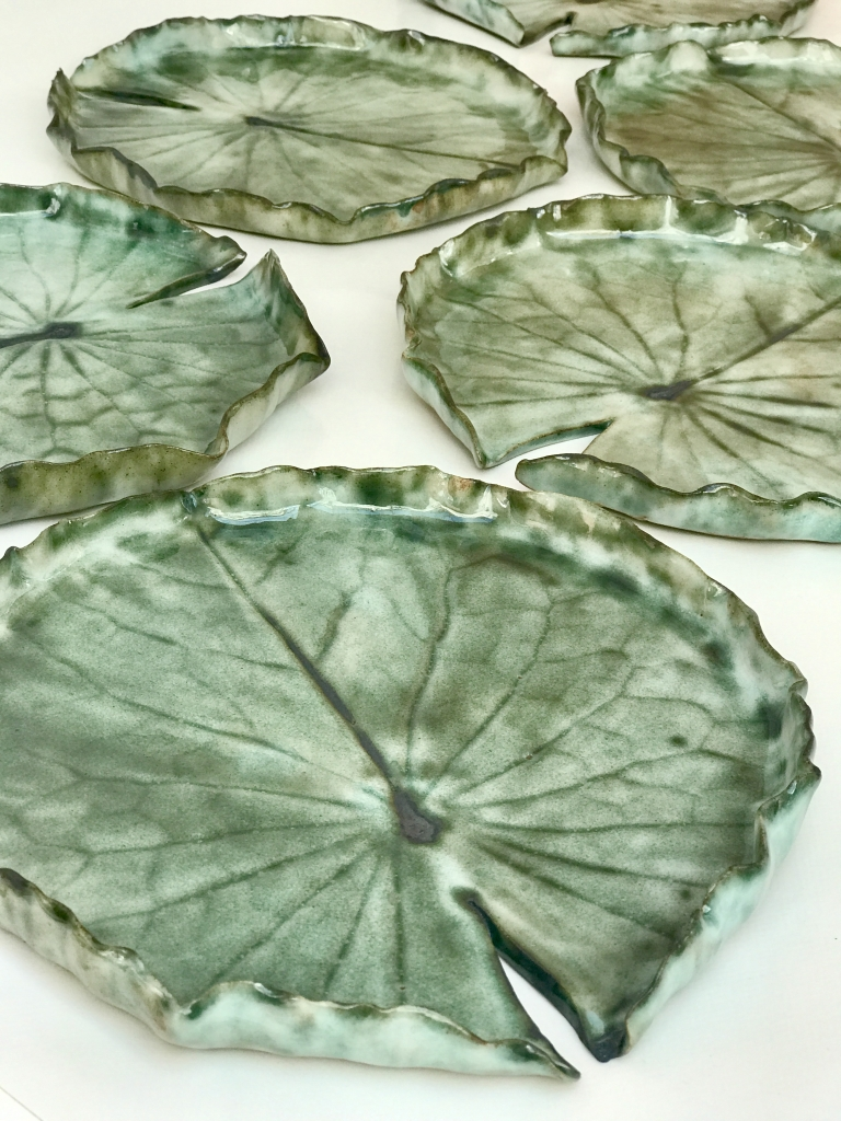 Pond Lily Dishes for Niall Keating chef in the Great British Menu 2020