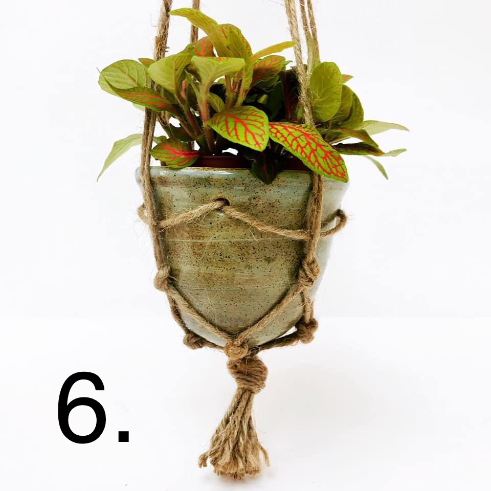 Hanging Planter Macrame Style