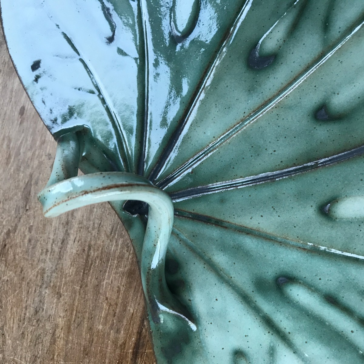 Twisted Vine Handle by Sonya Ceramic Art 'Example 2'