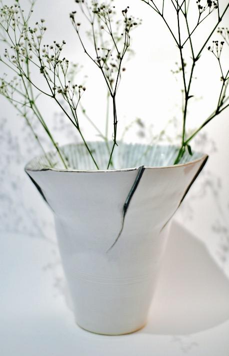 Sonoran Cactus Vase by Sonya Ceramic Art