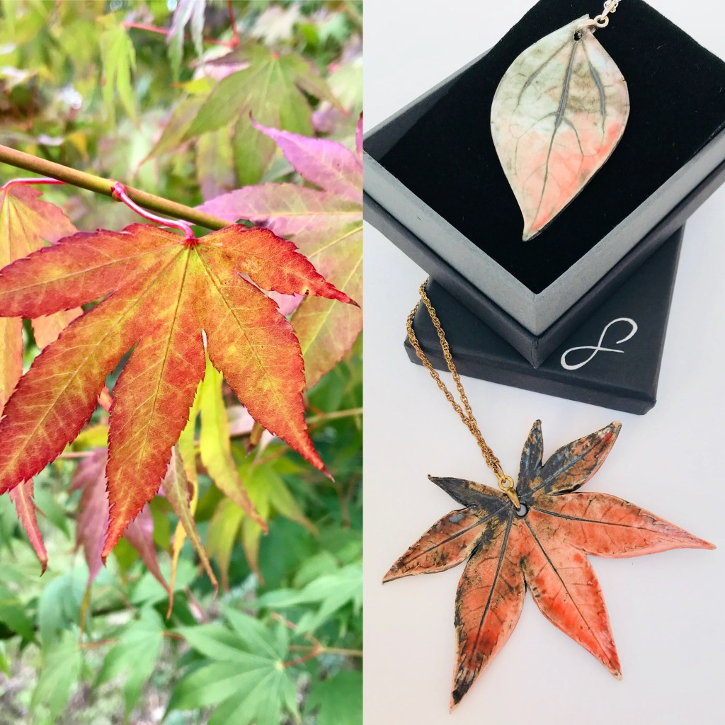 Maple Leaf to Jewellery Transformation