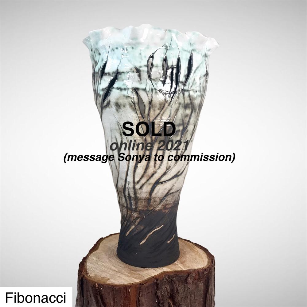 Sold Vase By Sonya Ceramic Art