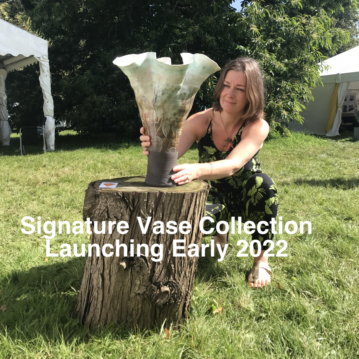 Signature Vases by Sonya Ceramic Art